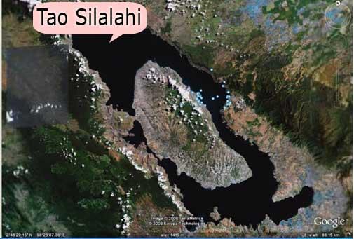 A part of Samosir Island
